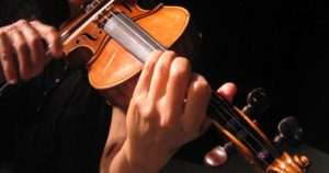 mains de violoniste