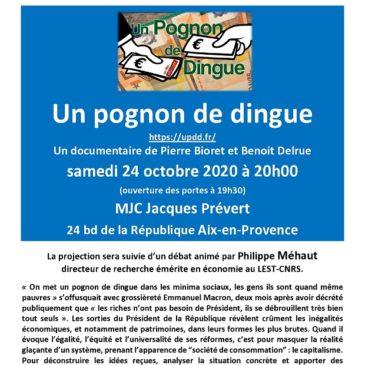 Projection débat – 24 octobre à 20h00