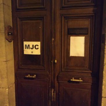 Fermeture du bâtiment de la MJC